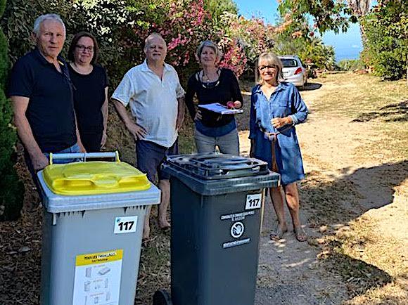 """Déchets : lancement de la première collecte en """"porte à porte"""" à Bastelicaccia"""