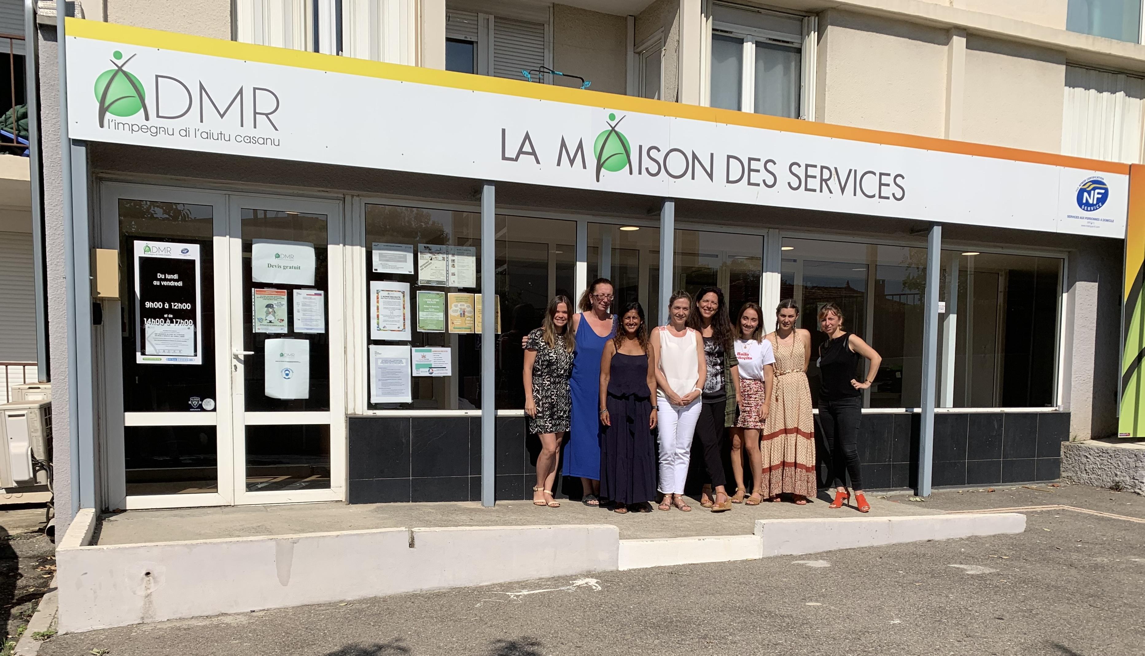 L'ADMR Haute-Corse dispose de 27 bureaux d'accueil dont celui de Lupino à Bastia