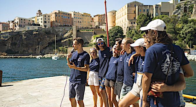 La mission Corseacare partira le 12 juillet de Bonifacio. Photo : Mare Vivu.