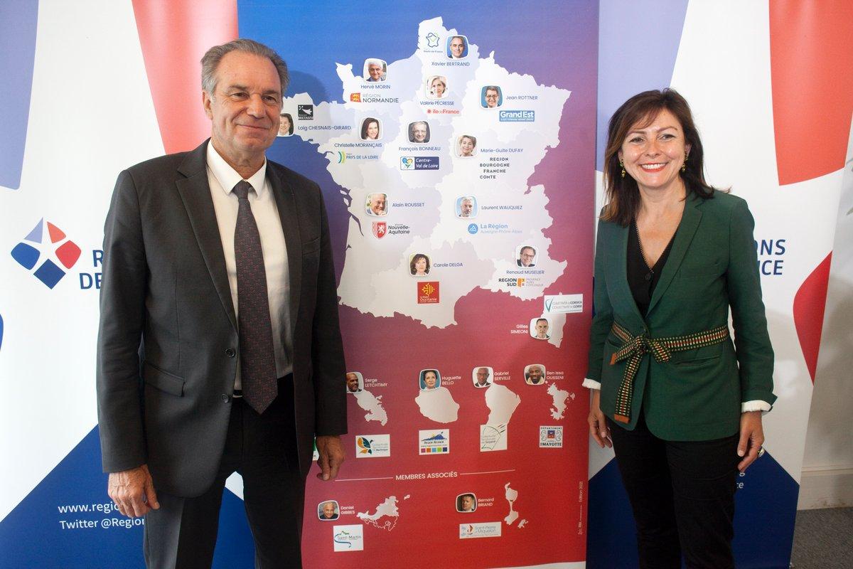 Renaud Muselier et carole Delga.