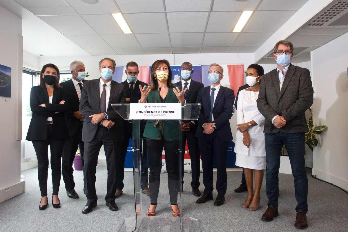 Régions de France : Carole Delga élue dans une présidence tournante, la Corse joue les arbitres