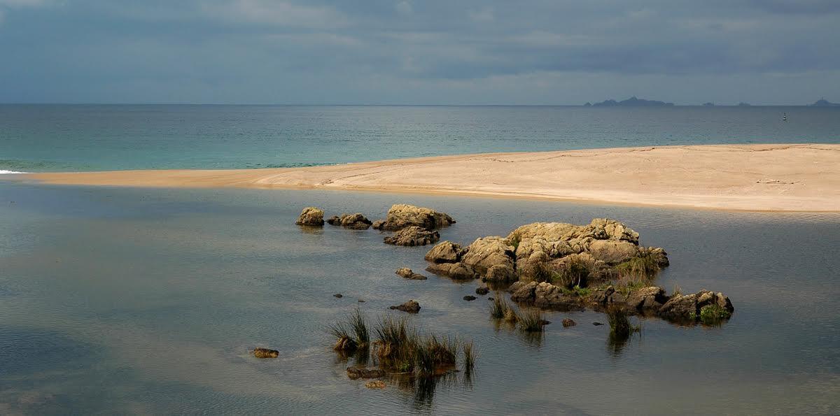 La photo du jour : l'embouchure de la Gravona