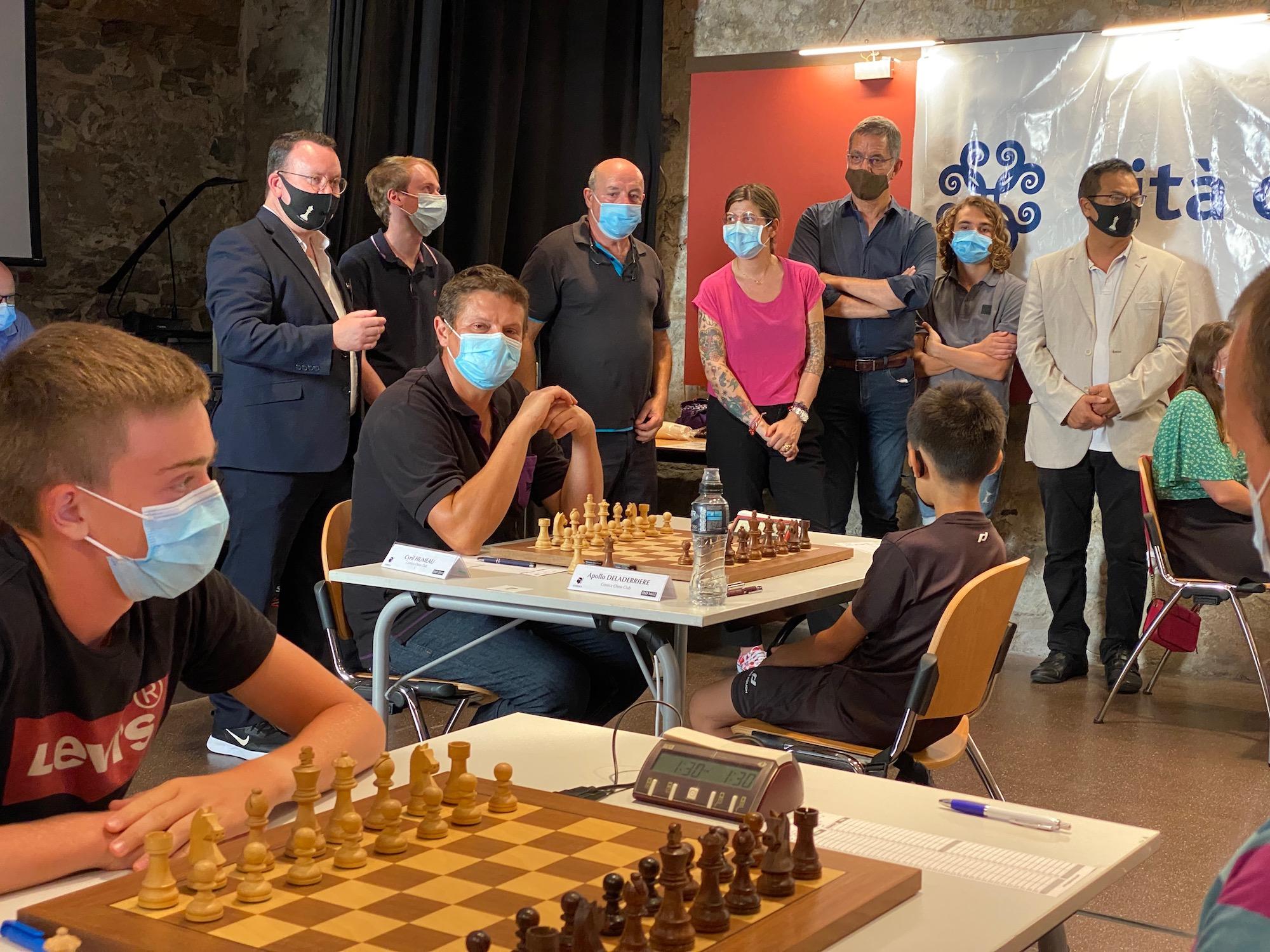 Le 1er Open international d'échecs se tient à Bastia du 12 au 18 juillet.