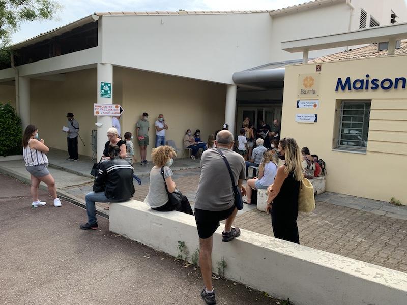 Haute-Corse : Ruée sur les rendez-vous de vaccination après les annonces de Macron