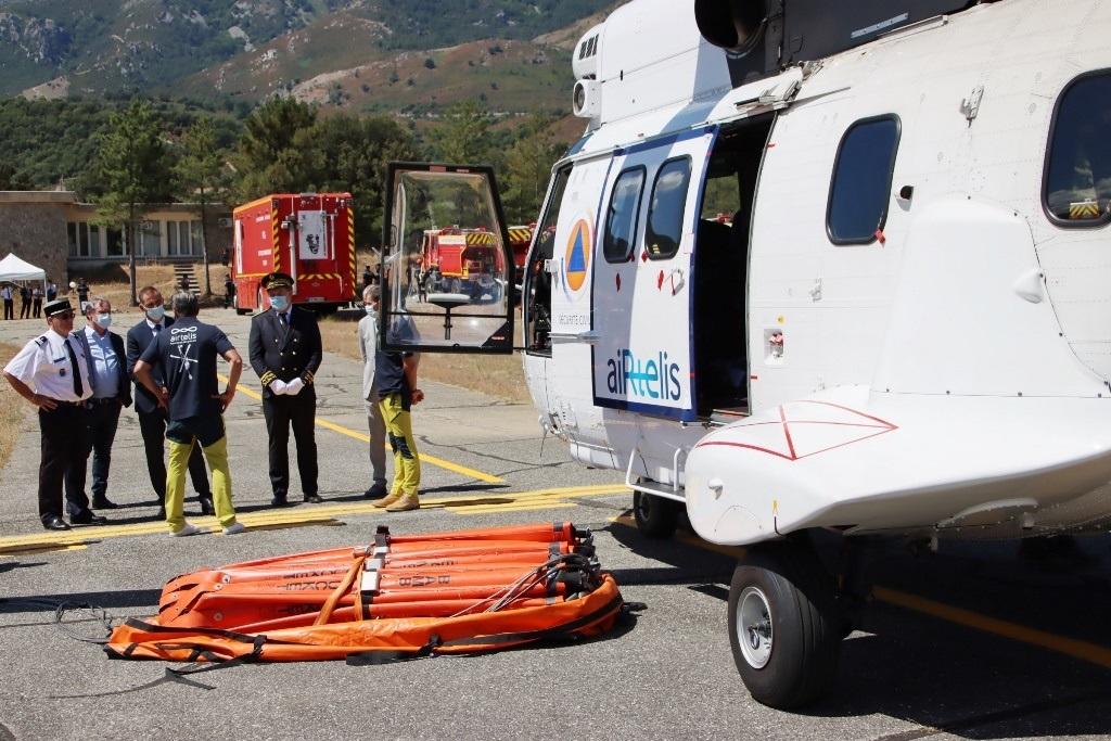 La Haute-Corse mobilise d'importants moyens contre les feux de forêt