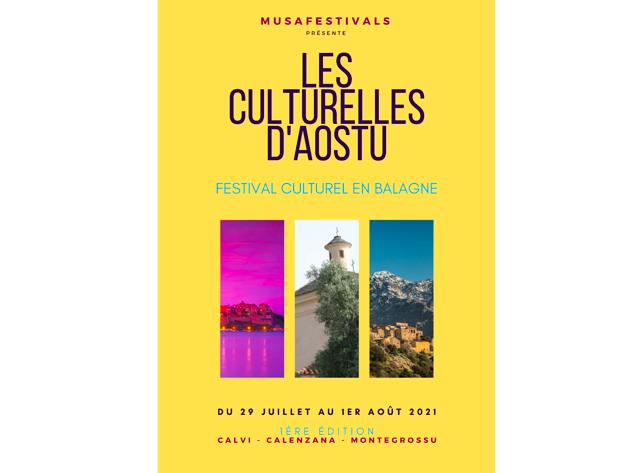 Culturelles d'aostu : la Balagne se prépare à accueillir son premier festival culturel