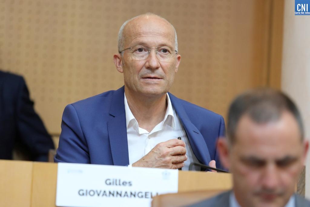 Gilles Giovannangeli, nouveau conseiller exécutif et nouveau président de l'Office de l'équipement hydraulique de la Corse (OEHC). Photo Michel Luccioni.
