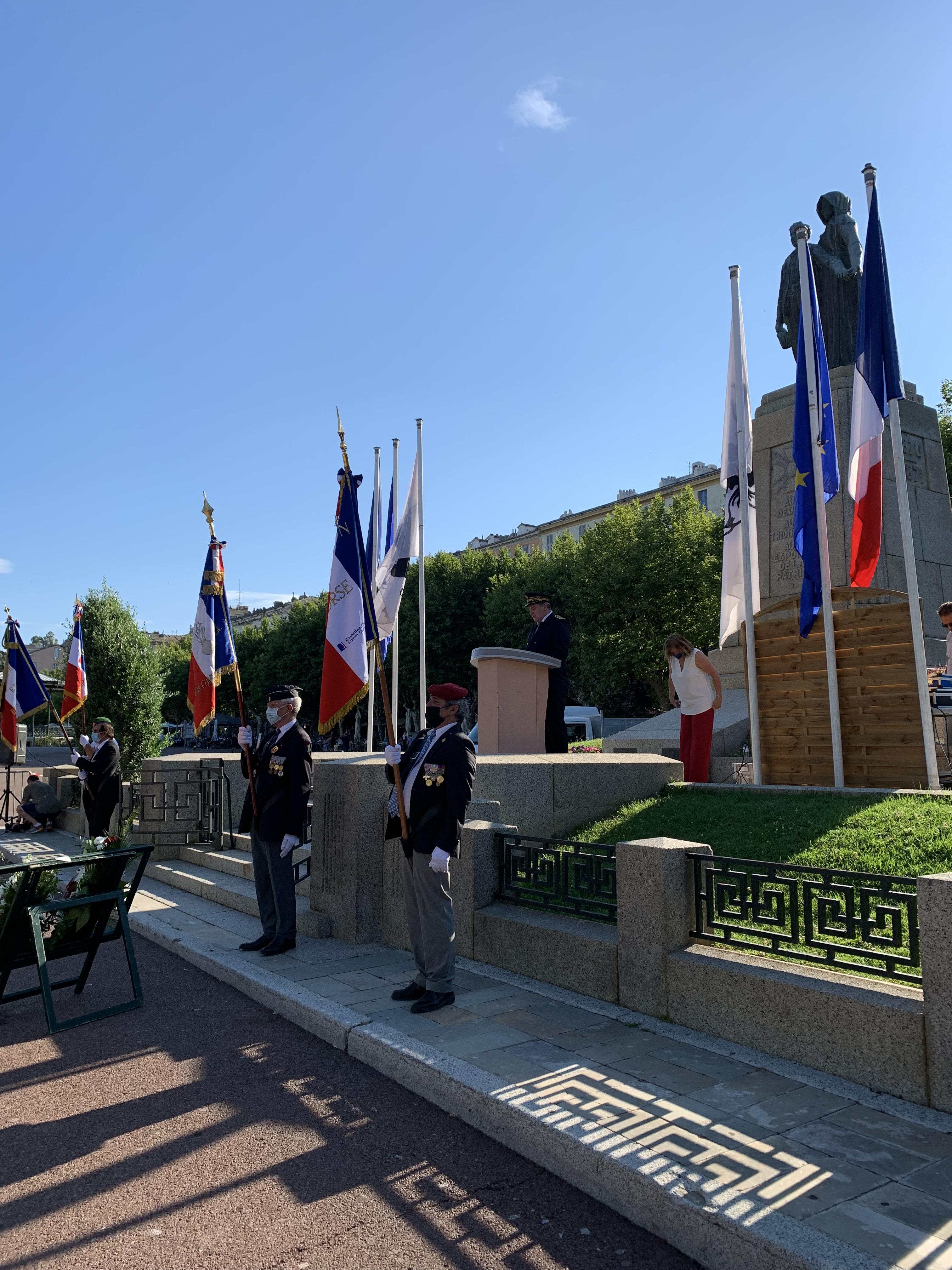 Bastia : à la mémoire des victimes des crimes racistes et antisémites de l'Etat français et d'hommage aux « Justes » de France