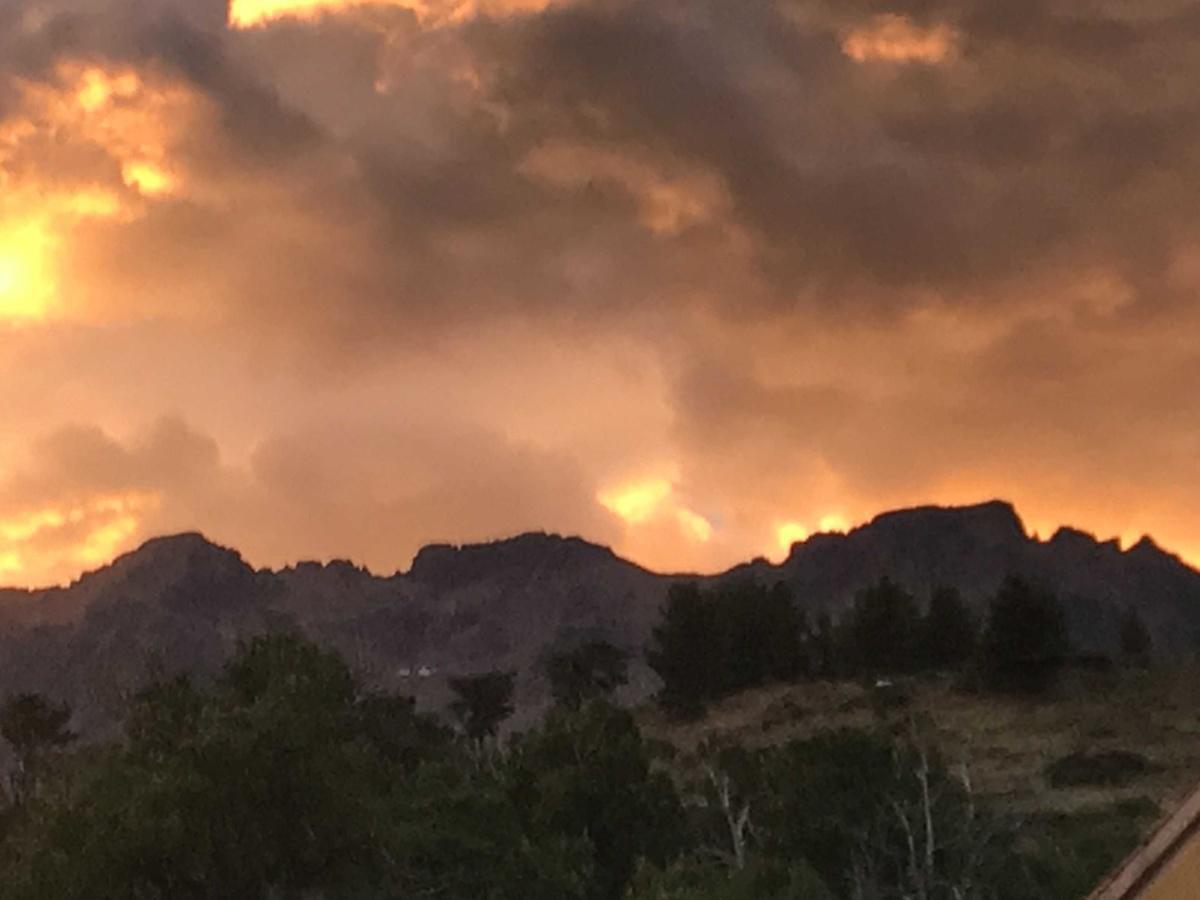 Le feu dans le ciel du Monte-Cinto (Achille Ori)