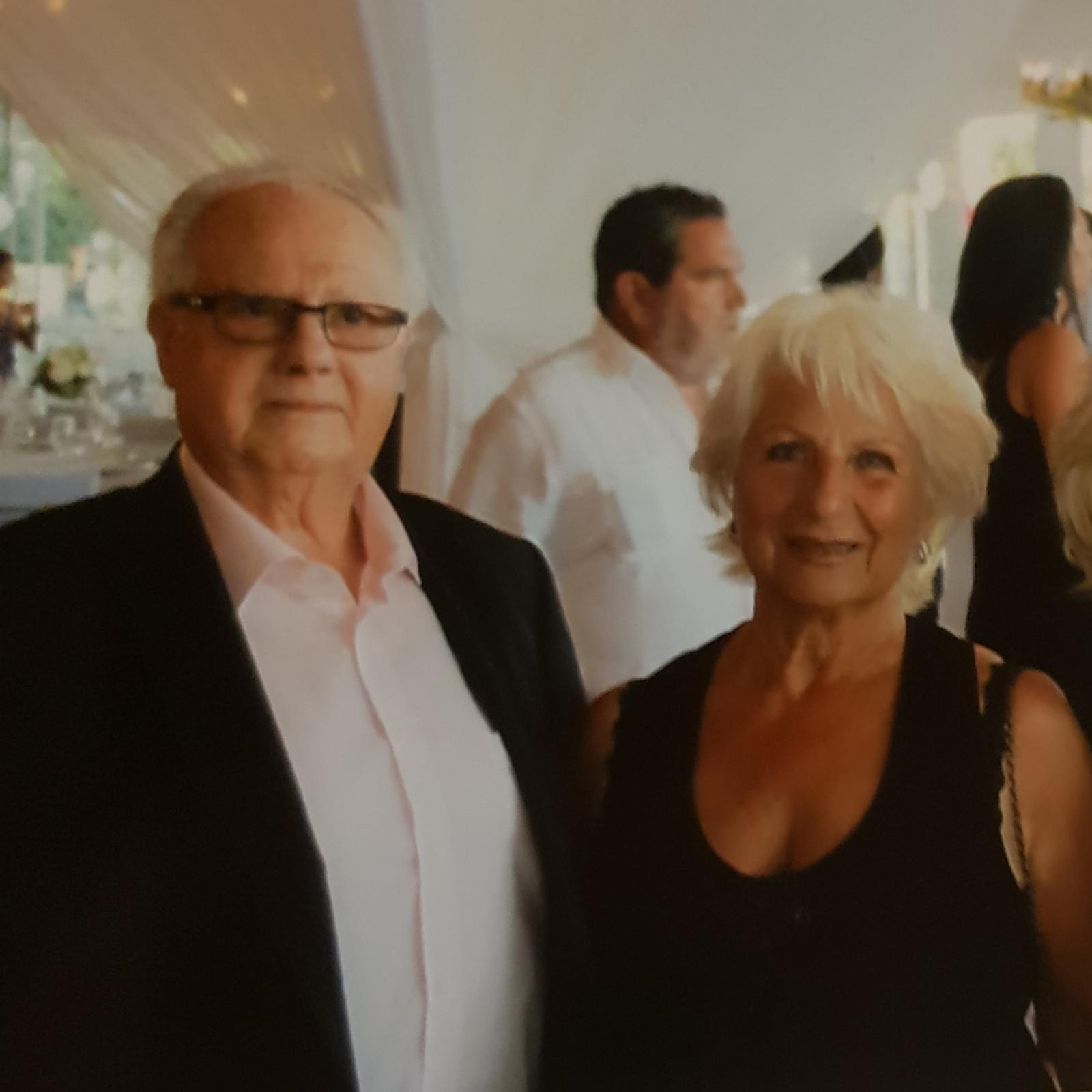 Josef avec son épouse Pierette