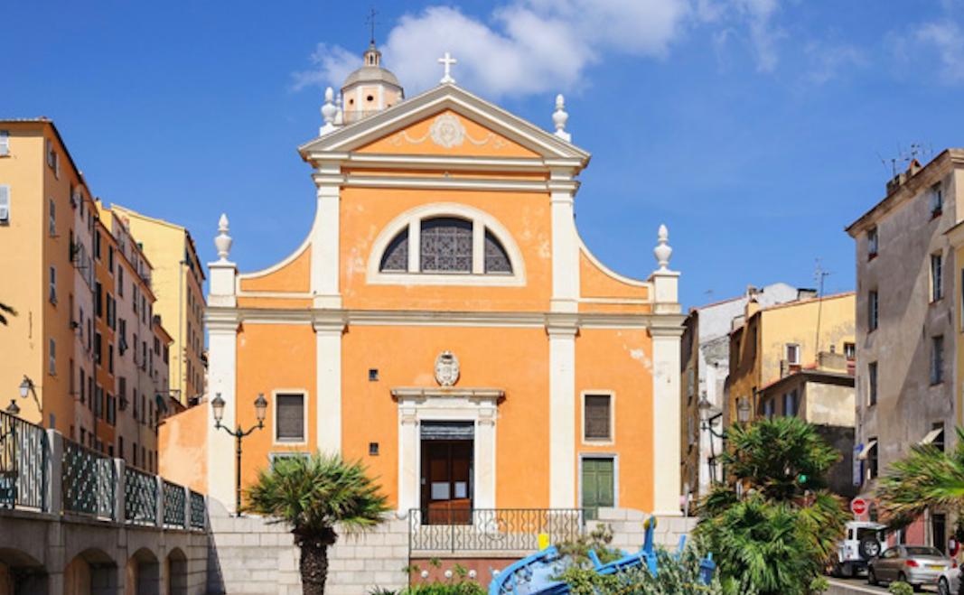 La cathédrale d'Ajaccio - photo archives CNI - Michel Luccioni