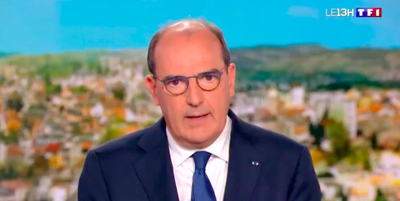 Capture d'écran journal de 13 heures de TF1