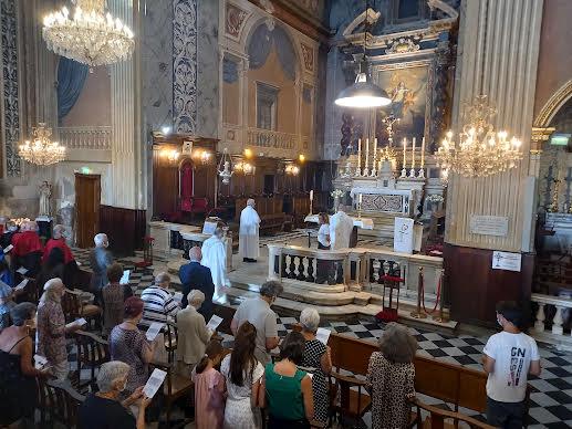 250e anniversaire du baptême de Napoléon à Ajaccio : une messe entre foi et histoire