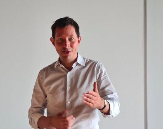 François-Xavier Bellamy parle d'une stigmatisation faite entre les vaccinés et les non-vaccinés. Crédits Photo : Pierre-Manuel Pescetti