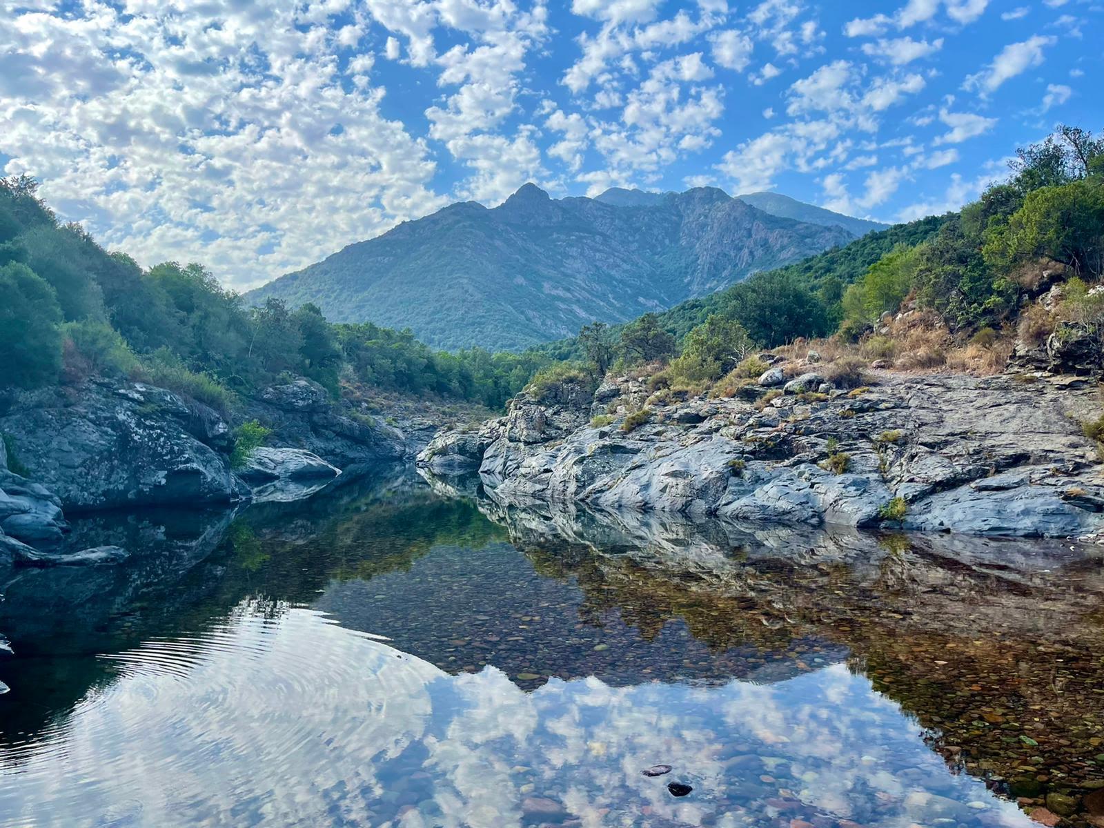 La vallée du Fangu à Galeria (Photo Françius Canava)