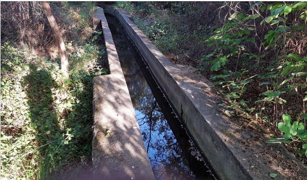 Le canal de la Figarella. Photo : association des usagers.