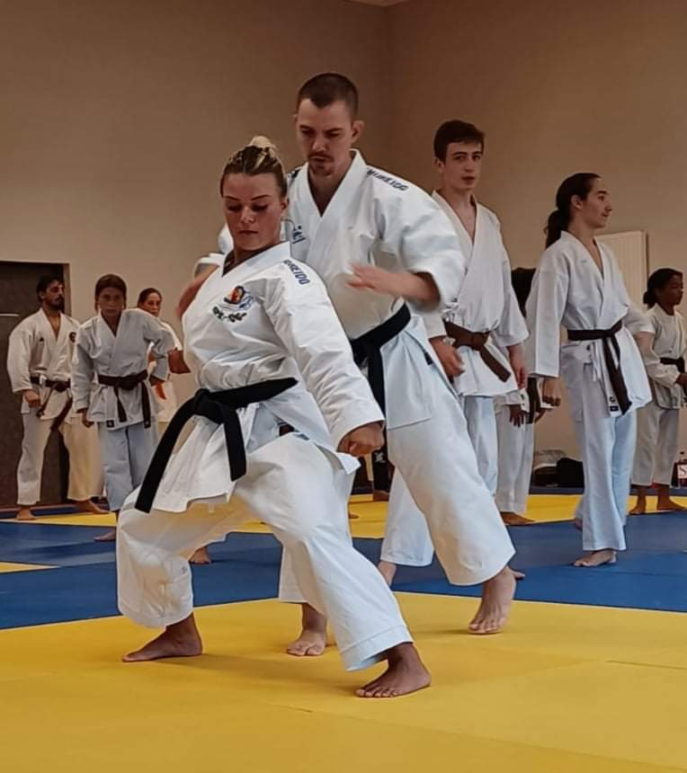 Borgo : un stage de haut niveau pour une centaine de karatekas
