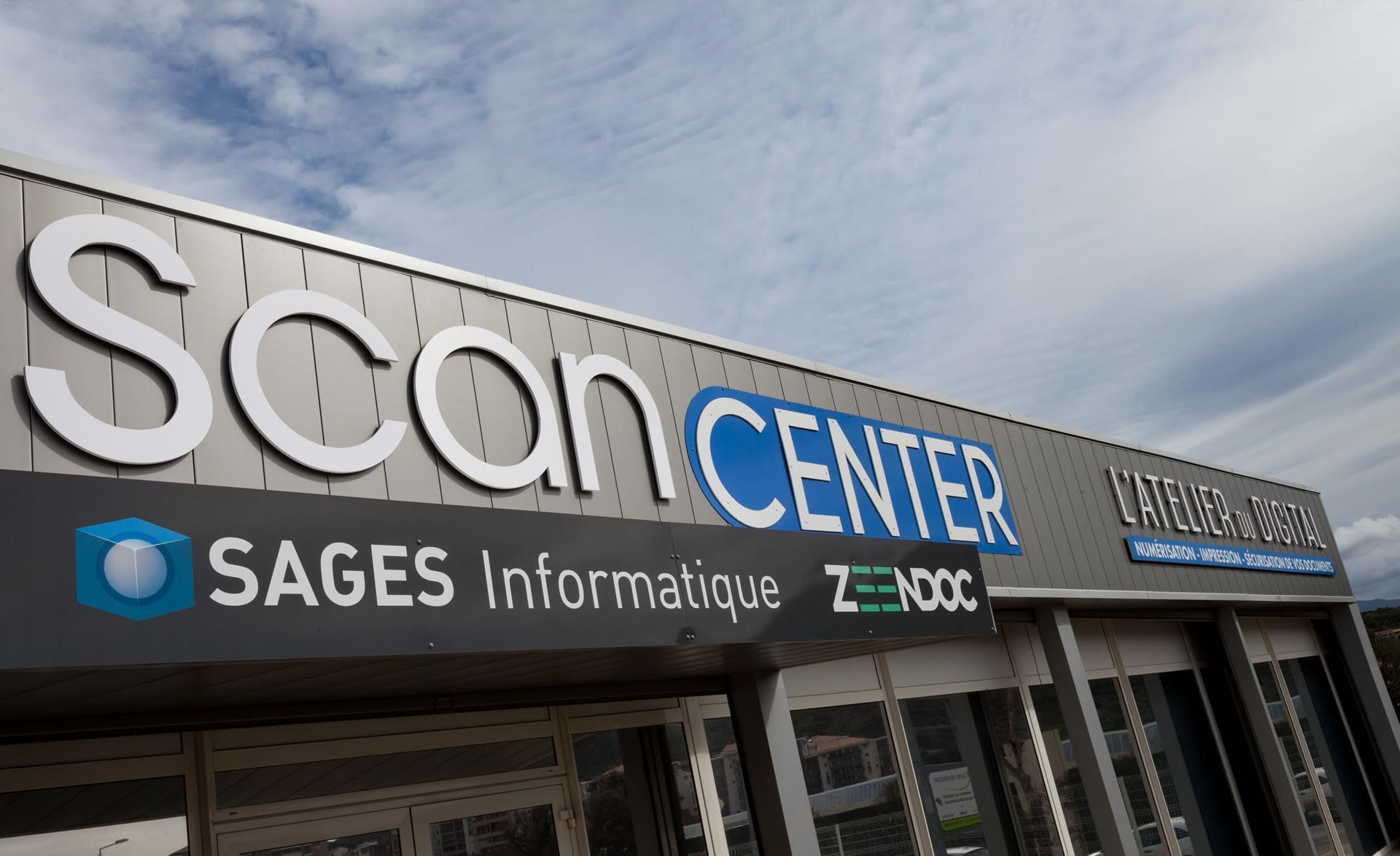 Scan Center, créé par Sages informatique à Ajaccio, la solution de numérisation