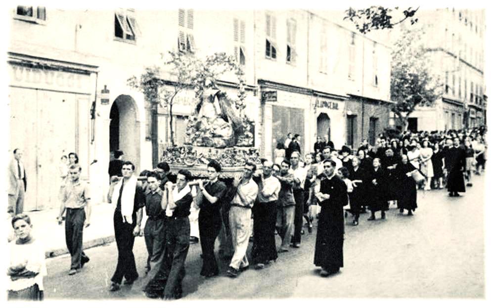 L'Assunta gloriosa in Bastia tanti anni fà