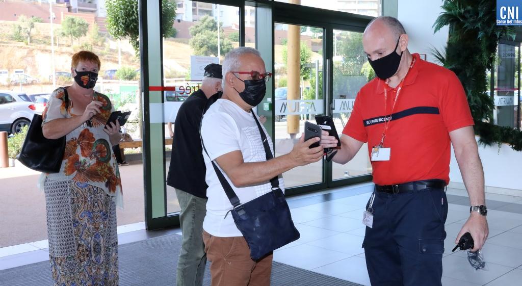 Pass sanitaire : le dispositif est entré en vigueur dans trois centres commerciaux de la région ajaccienne