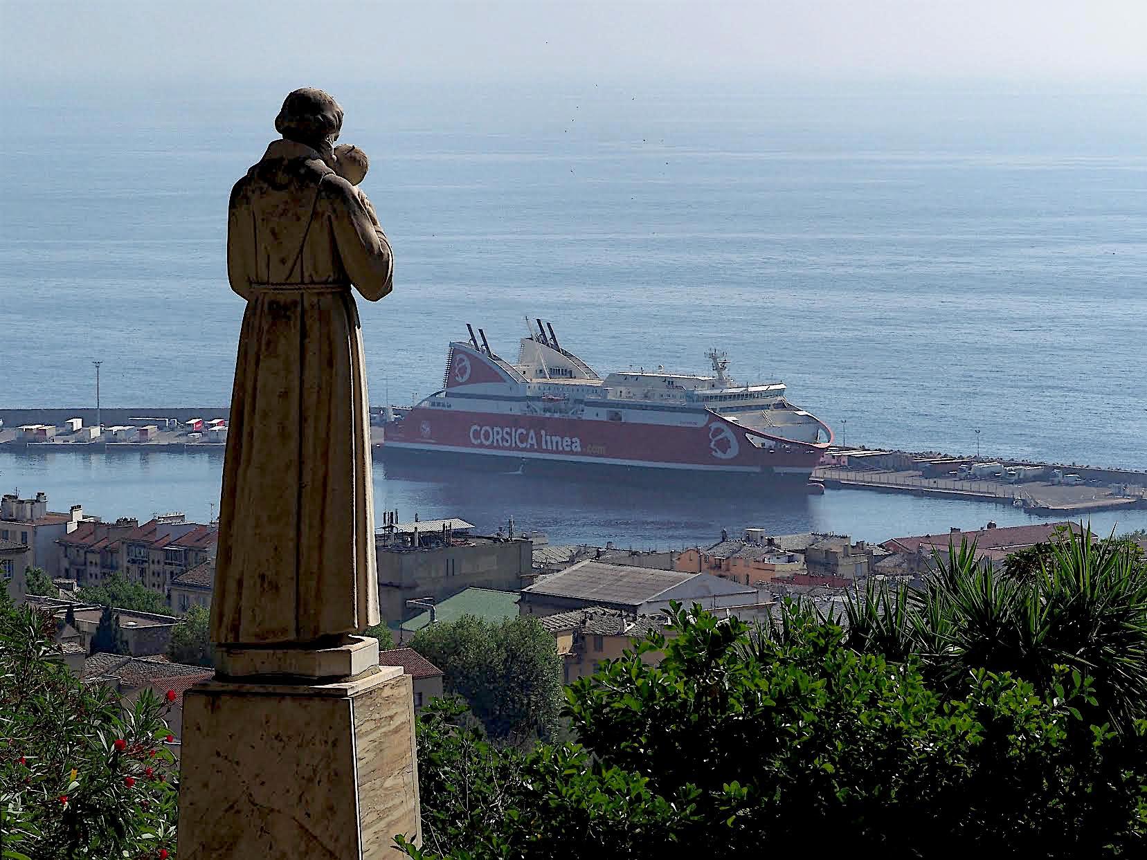 La photo du jour : Saint Antoine, saint patron de Bastia