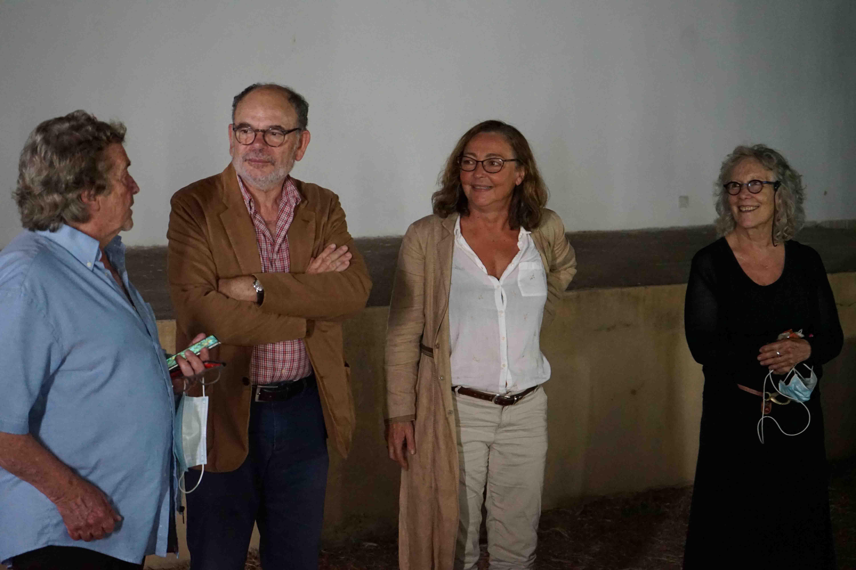 Catherine Frot et Jean-Pierre Darroussin sont venus présenter le film Des hommes, de Lucas Belvaux à L'Ile-Rousse