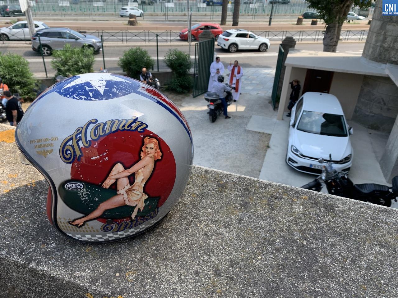 Notre Dame de Lourdes de Bastia : la bénédiction de Saint Christophe pour les motards
