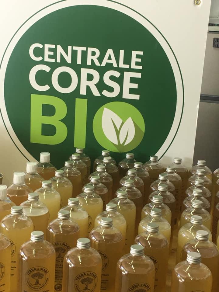 L'entreprise propose des savons faits à partir d'huiles végétales usagées. Crédits Photo : Centrale Bio Corse