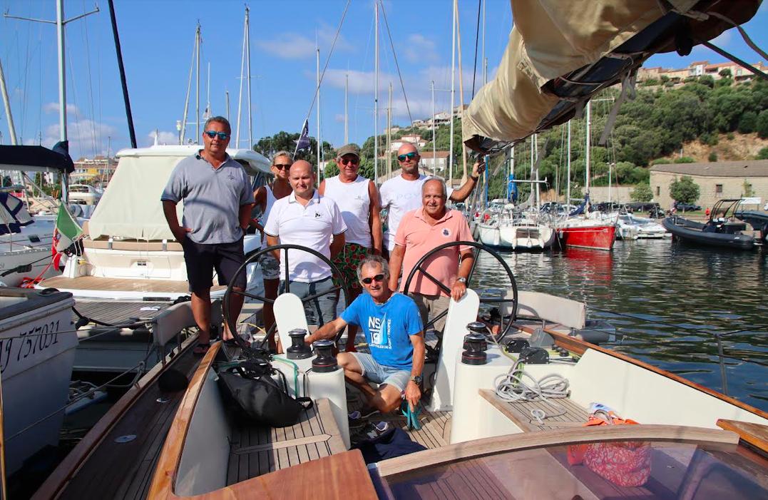 L'équipage du Hounbonne IV