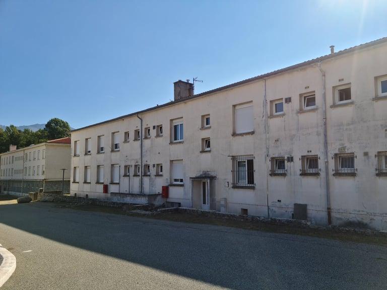 Les logements de l'UIISC 5. Crédits Photo : Pierre-Manuel Pescetti