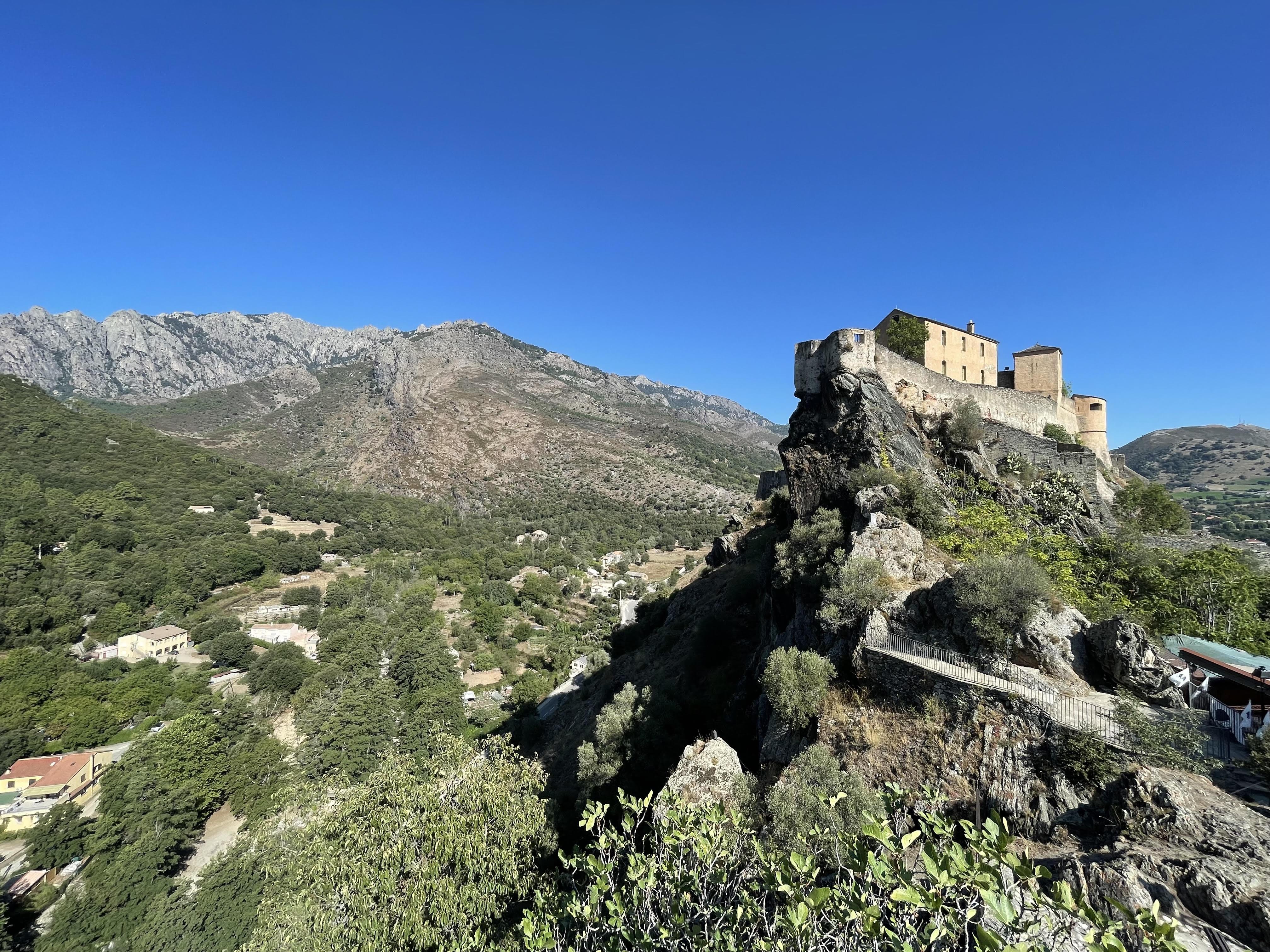La photo du jour : a citadella di Corti
