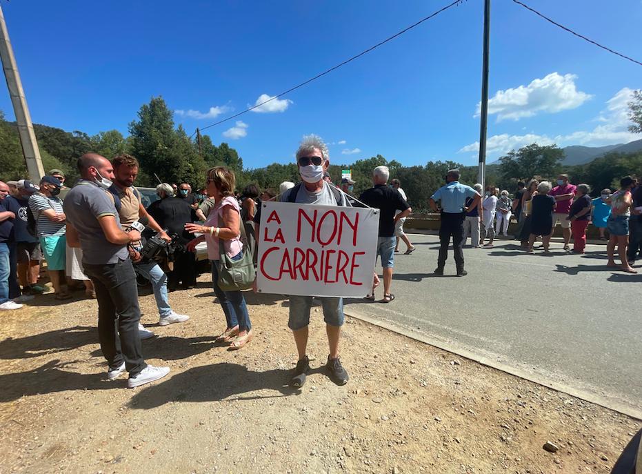 Une partie des manifestants