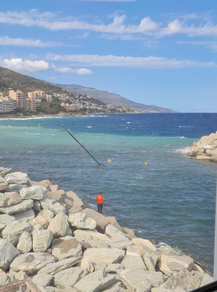 Port Toga : un voilier coule après avoir heurté la jetée
