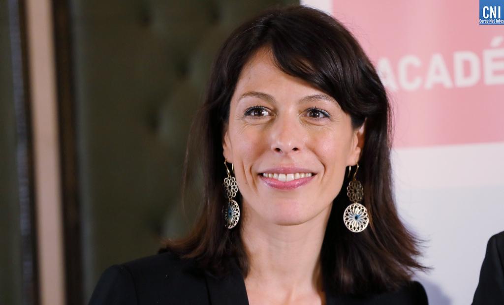 La rectrice de l'Academie de Corse, Julie Benetti. Photo Michel Luccioni