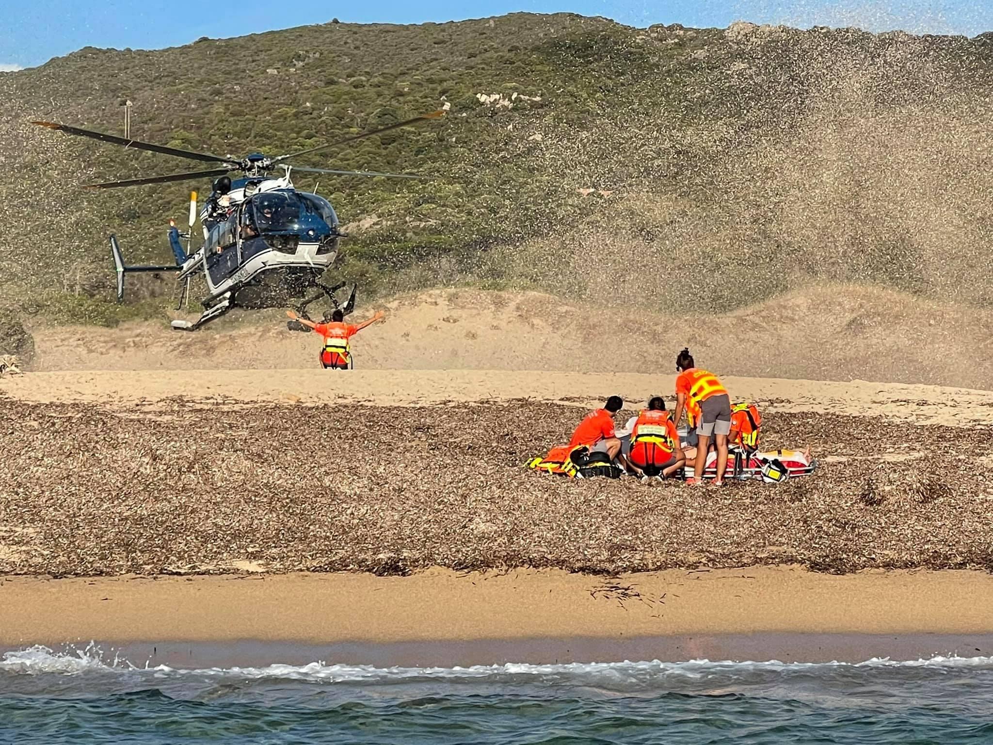 Accident de bateau au large de la pointe de Senetosa : un blessé grave
