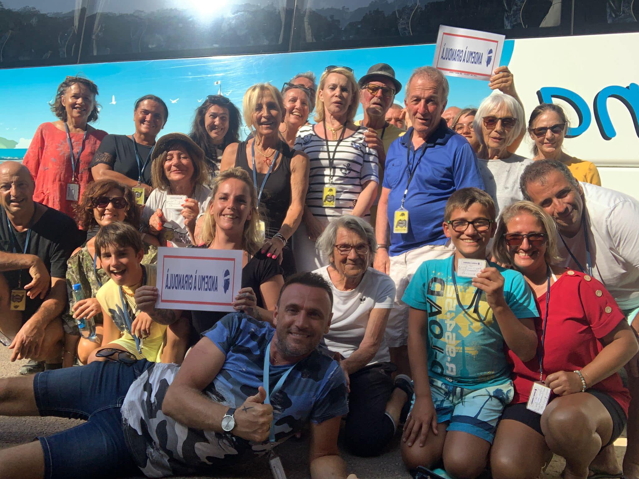 1ère sortie réussie pour Christophe Oriola, Patrice Pompei et leurs Giranduloni