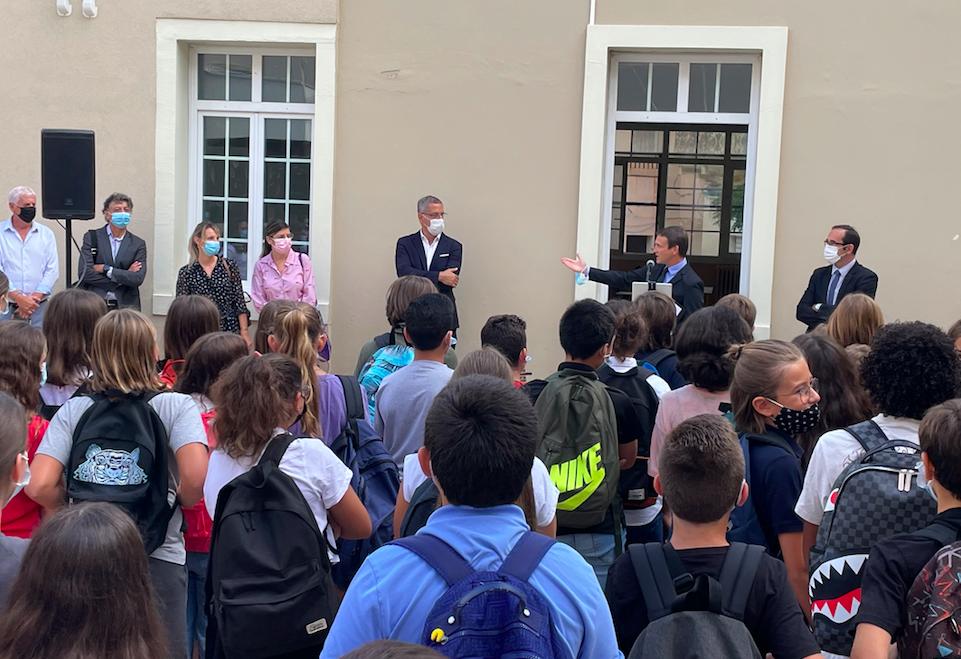 Bastia : une rentrée en musique au collège Simon-Vinciguerra