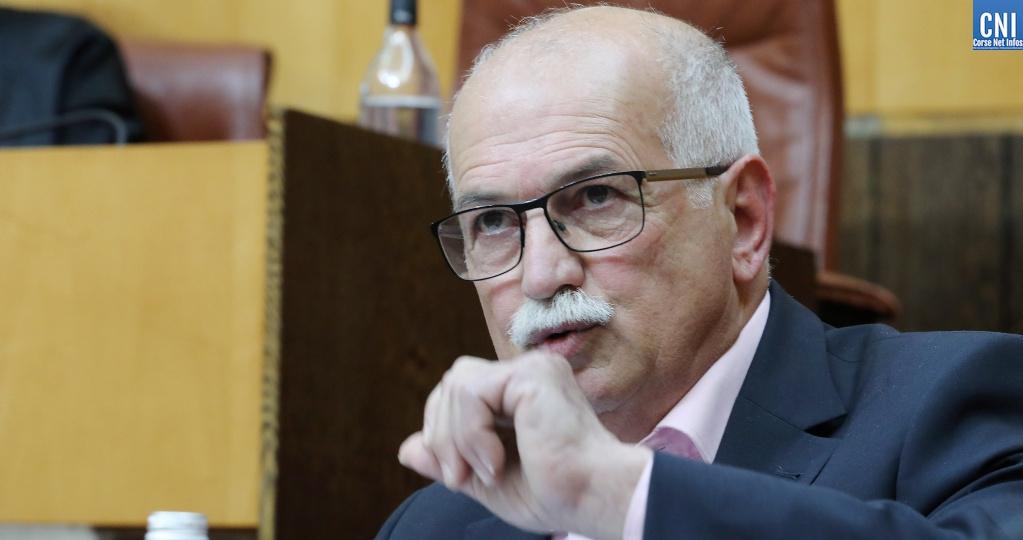 Jean Biancucci se dit satisfait de la décision du tribunal administratif. Photo : Michel Luccioni