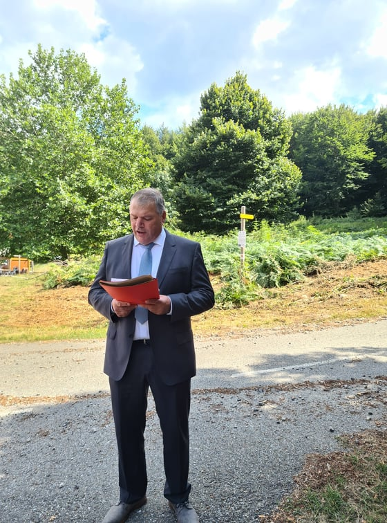 Jean-Charles Martinelli, actuel président de la CMA régionale et candidat à sa propre succession. Crédit Photo : Pierre-Manuel Pescetti