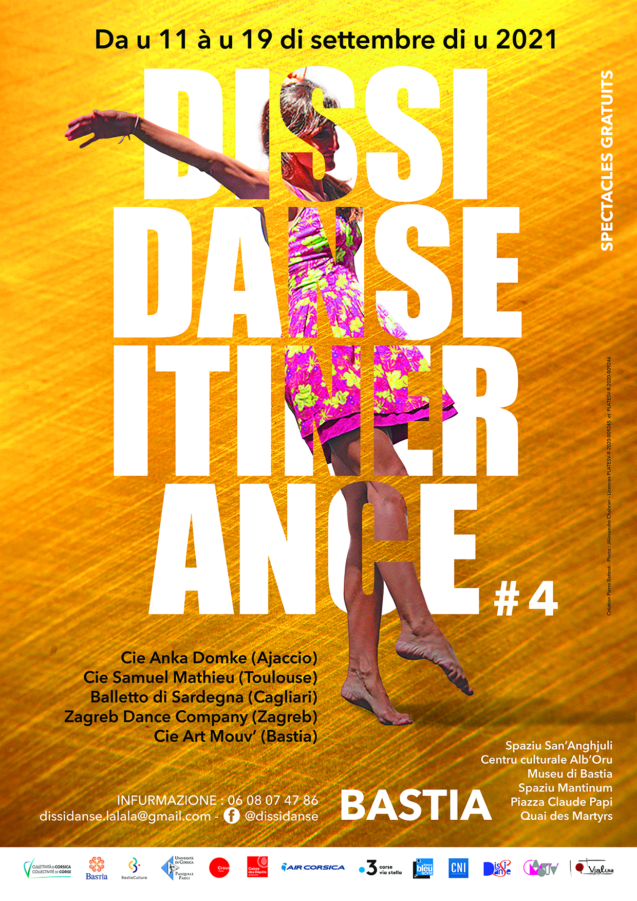 Le festival itinérant Dissidanse est à Bastia du 11 au 19 septembre
