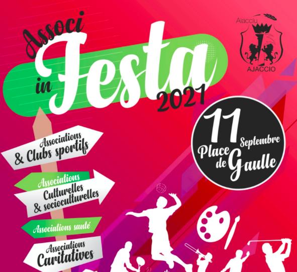 """Ajaccio : """"Associ in Festa"""" revient ce 11 septembre sur la place du général de Gaulle"""