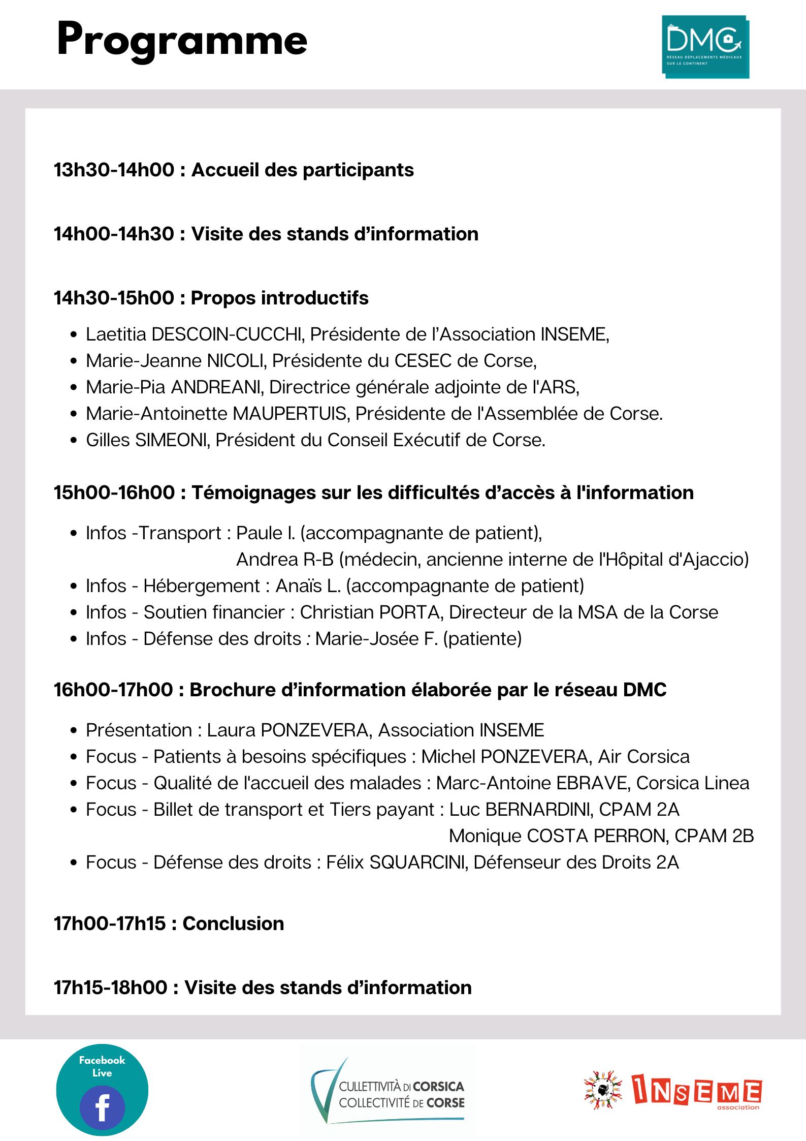 Déplacements médicaux sur le continent : une journée d'échanges le 10 septembre à Ajaccio