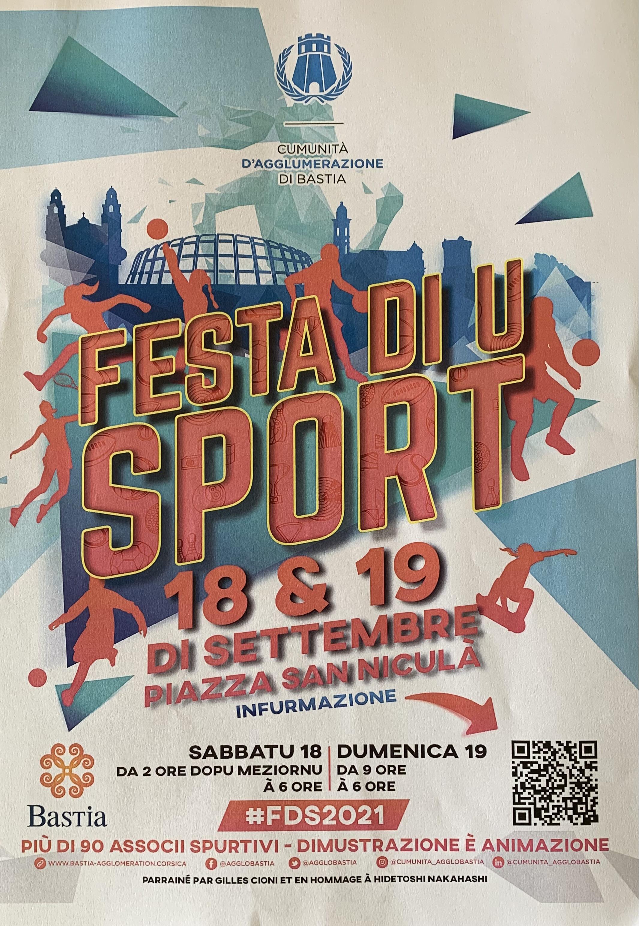 Bastia : la Fête du sport revient du 13 au 19 septembre