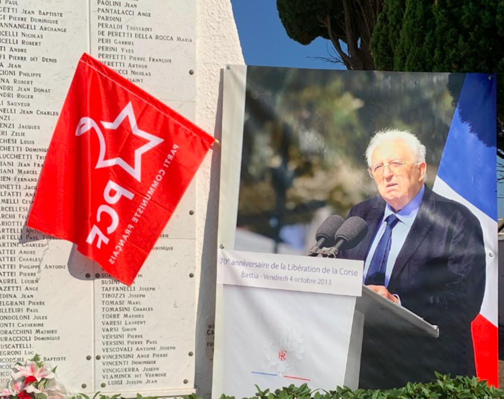 Bastia : émouvant hommage à Léo Micheli