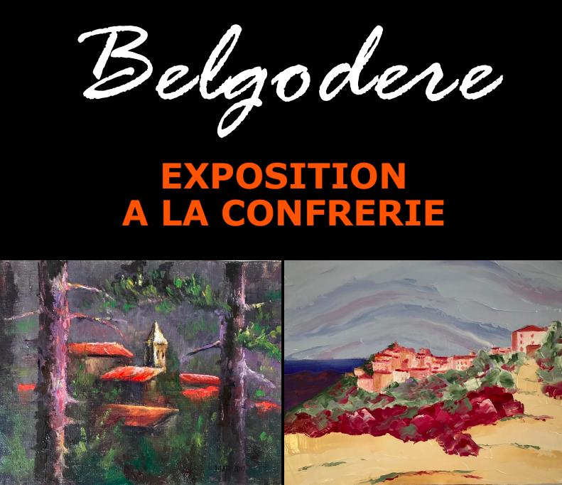 Belgodere : Une Expo de peinture à la confrérie