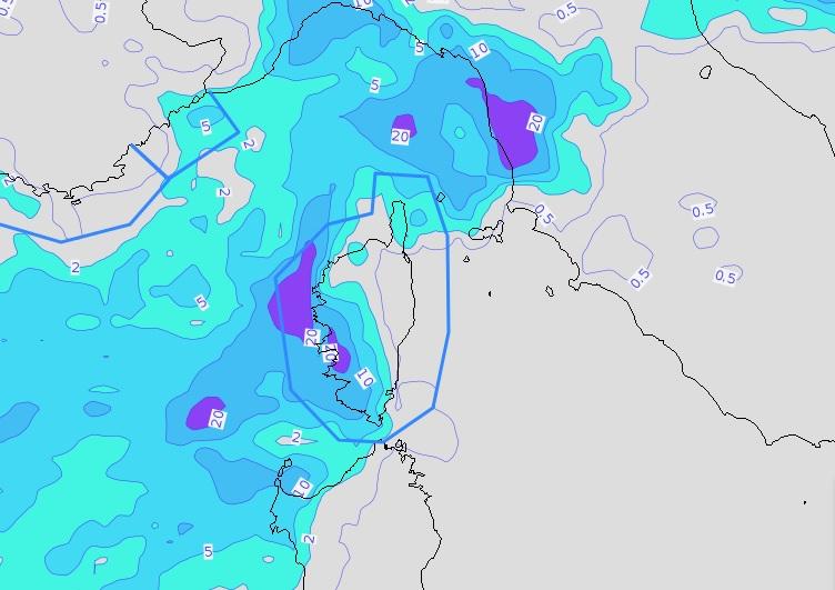 orages et fortes pluies sont attendus dans la nuit de vendredi à samedi