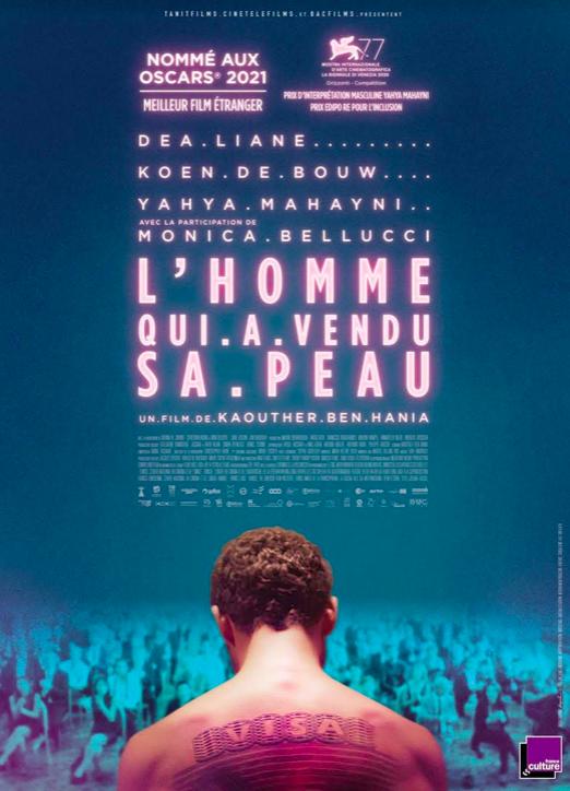 """Lisula : """"L'homme qui a vendu sa peau"""" en avant première au cinema Fogata ce 14 septembre"""