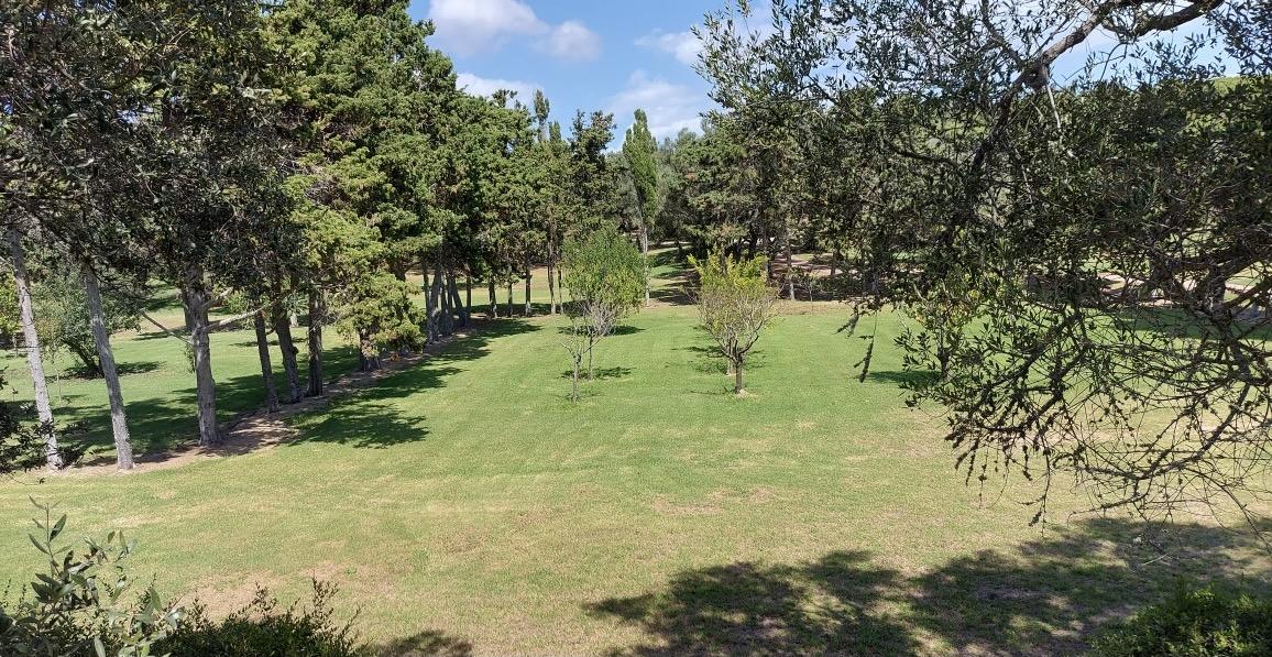 Le domaine de la famille Masurel à Bunifaziu, quartier Saint-Jean, au dessus du golf de Sperone.