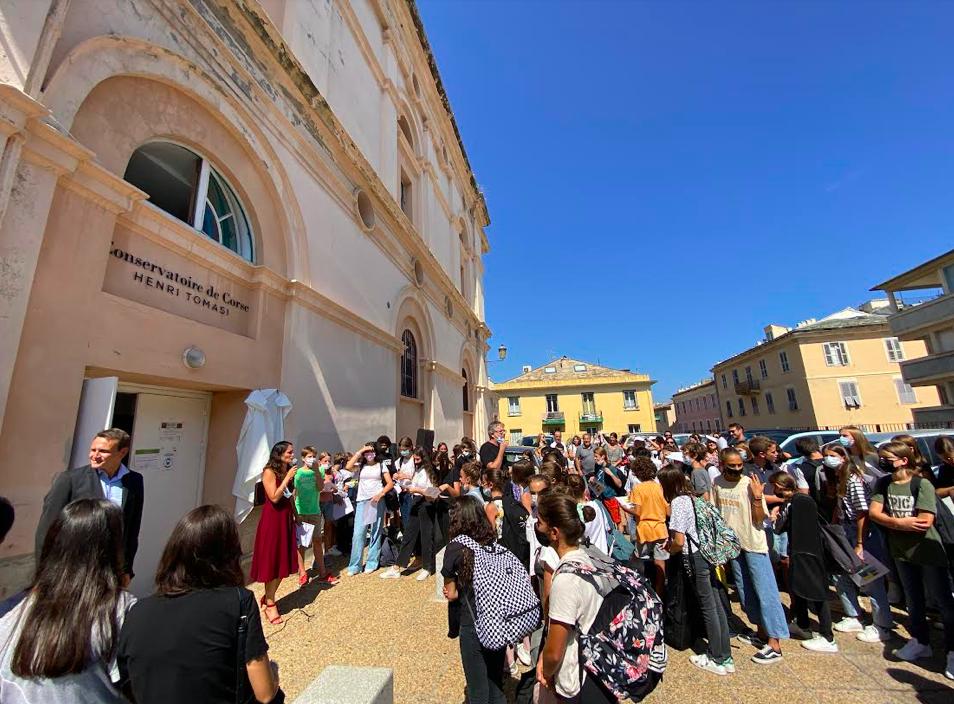La rentrée du conservatoire à Bastia