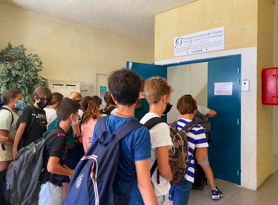 Les jeunes artistes font leur rentrée à Ajaccio